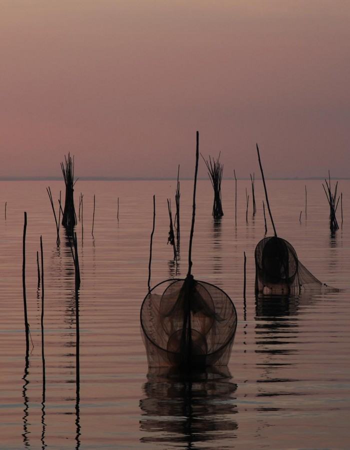 Reti pescatori a San Feliciano